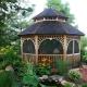 Original ideas of design of an arbor