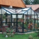 Features of English greenhouses