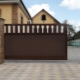 Features and basic rules for the installation of entrance gates