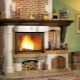 Features of brick fireplaces and their laying