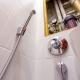 Funktioner av inbyggda mixers för hygienisk dusch