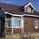 Finition des maisons avec revêtement: idées de design