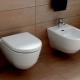 Upphängda toalettskålar av Laufen: egenskaper och fördelar med modeller