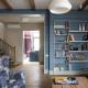 Målarfoder inuti huset i olika färger: ursprungliga idéer