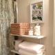 Prateleiras no banheiro: opções de design