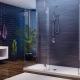 Rektangulära duschkabiner: typer och storlekar