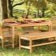 Mobilier de jardin en bois: le pour et le contre