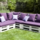 Garden furniture from pallets: what can be made of wooden pallets?
