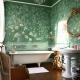 Glass fiber in the bathroom interior design