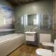 PVC стени панели във вътрешността на банята