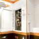 Nós construímos no vaso sanitário para tubos de gesso cartonado