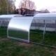 Оранжерии Tulip: модели с отварящи се страни и плъзгащ се покрив