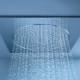 Regndusch för badrummet: funktioner, fördelar och nackdelar