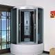 Hörna duschkabiner med bricka: Funktioner som valts