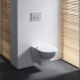 Montering av installationen av den upplagda toaletten Alcaplast