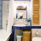Bathrooms in Provence style: French charm and comfort