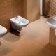 Inbyggda toaletter - dekoration badrum