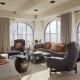 Janelas arqueadas em design de interiores