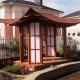 Hur man gör ett lusthus i japansk stil?