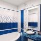 Comment choisir un carrelage de salle de bain en bleu?