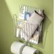 Väggmonterade metallhållare för toalettpapper: variationer och urvalskriterier