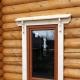 Características da instalação de janelas de plástico em uma casa de madeira