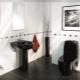 Toalett dekoration: typer och design idéer