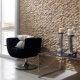 Panels for stone walls - non-standard approach to interior design