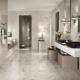 Carrelage en marbre pour salle de bain: caractéristiques de conception et critères de sélection