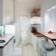 Dessus de table en design d'intérieur de cuisine