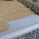 Rules for the selection of geotextiles for garden paths