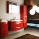 Diskhoar i badrummet med ett skåp: de finesser som valts
