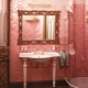 Pink bathroom tile: types and nuances of choice