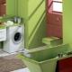 Tvättmaskin under diskbänken: alternativuppsättningar