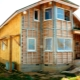 बाहर लकड़ी के घरों के इन्सुलेशन की subtleties