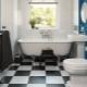 Den noggrannhet att välja högkvalitativa golvplattor i badrummet