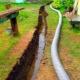Дренажен канал: плюсовете и минусите на отворена система за отводняване на вода