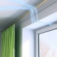 Janelas de plástico ventiladas com caixa de ventilação Air Box