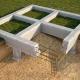 Fundação de tiras monolíticas: características da construção