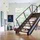 Kenmerken van moderne metalen trappen voor thuis: productie en afwerking
