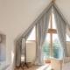Janelas triangulares no interior: ideias incomuns e soluções elegantes