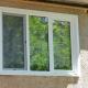 Escolhendo encostas de janela de metal exterior