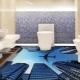 Vi gör golvet i badrummet: reglerna för att lägga keramiska plattor
