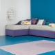 Children's corner sofa: types and rules of choice