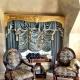 Franska gardiner: lyxig inredningsdetaljer