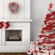 Hur man dekorerar ett vitt julgran?