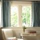 Korta gardiner: en genomgång av modeller upp till längd av fönsterbrädan