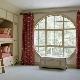 Vi väljer gardiner för icke-standardiserade fönster