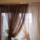 Organza gardiner: funktioner och val