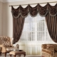 Types of curtains with lambrequin and tips on choosing